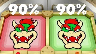 Super Mario Party Minigames - Wario Vs Mario Vs Daisy Vs Peach