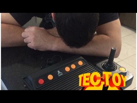 Vale a pena comprar o Atari 2600 da tectoy?