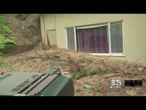 OAKLAND LANDSLIDE:  Residents Of Oakland Hills Neighborhood Dealing With Massive Landslide