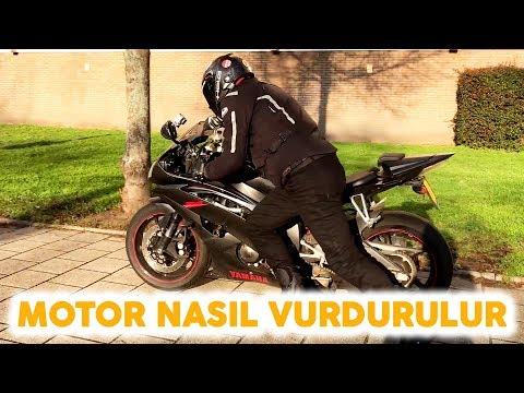 Aküsü Biten Motosiklet Nasıl Vurdurulur - Çalıştırılır ?