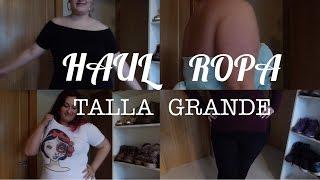 HAUL ROPA XL#3 ROPA TALLA GRANDE
