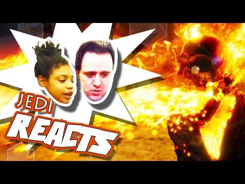 "JEDI REACTS BONUS! 🔥💀 ""Ghost Rider: Spirit of Vengeance"""