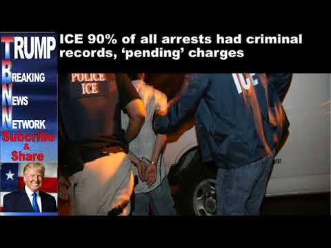ICE 90% of all arrests had criminal records, 'pending' charges