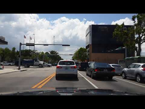 Miami, FL. Driving from Little Havana to Westchester. May 11, 2018