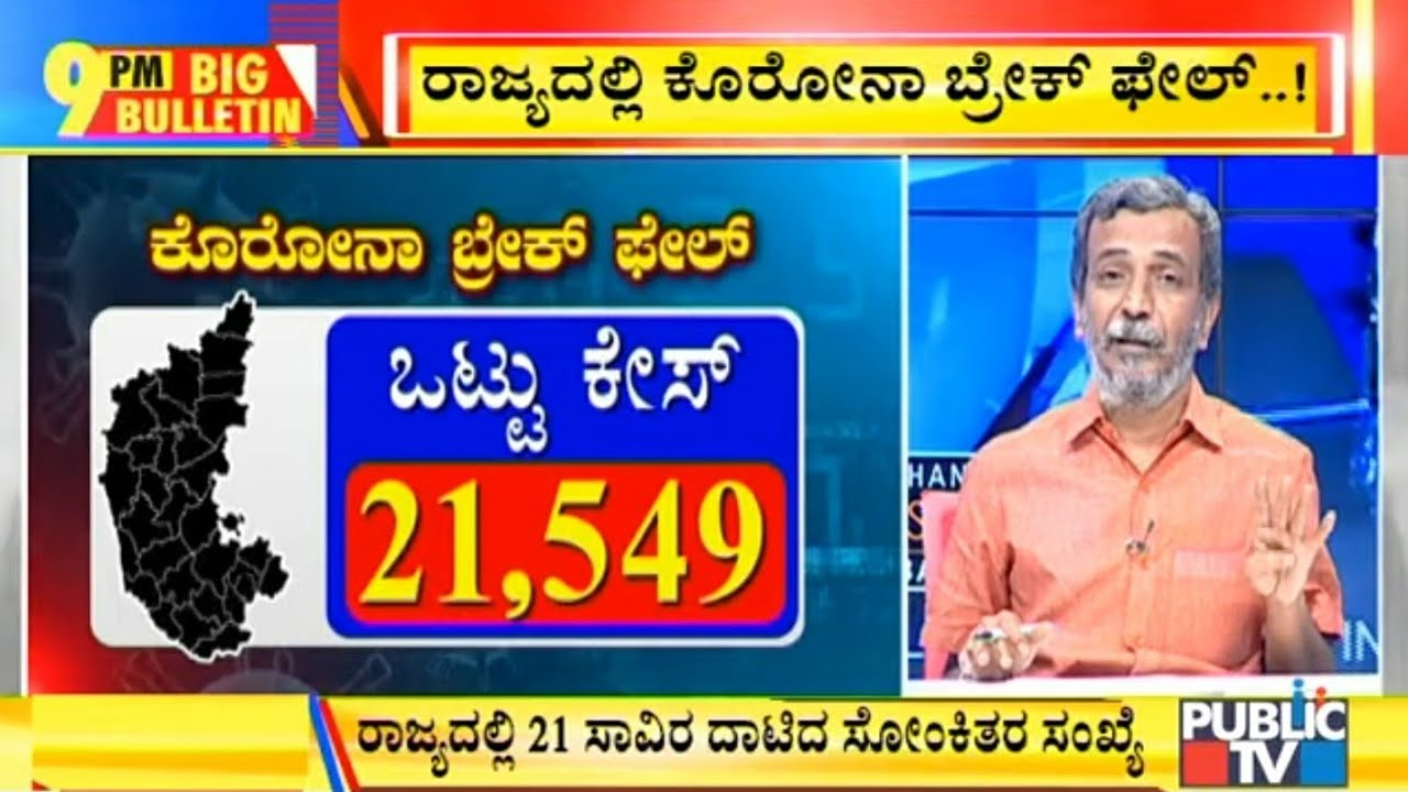 Big Bulletin With HR Ranganath | 1,839 COVID 19 Cases ...