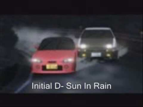Initial D- Sun In Rain
