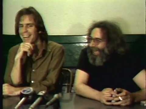 218.  Jerry Garcia And Bob Weir Radio City Press Conference 2