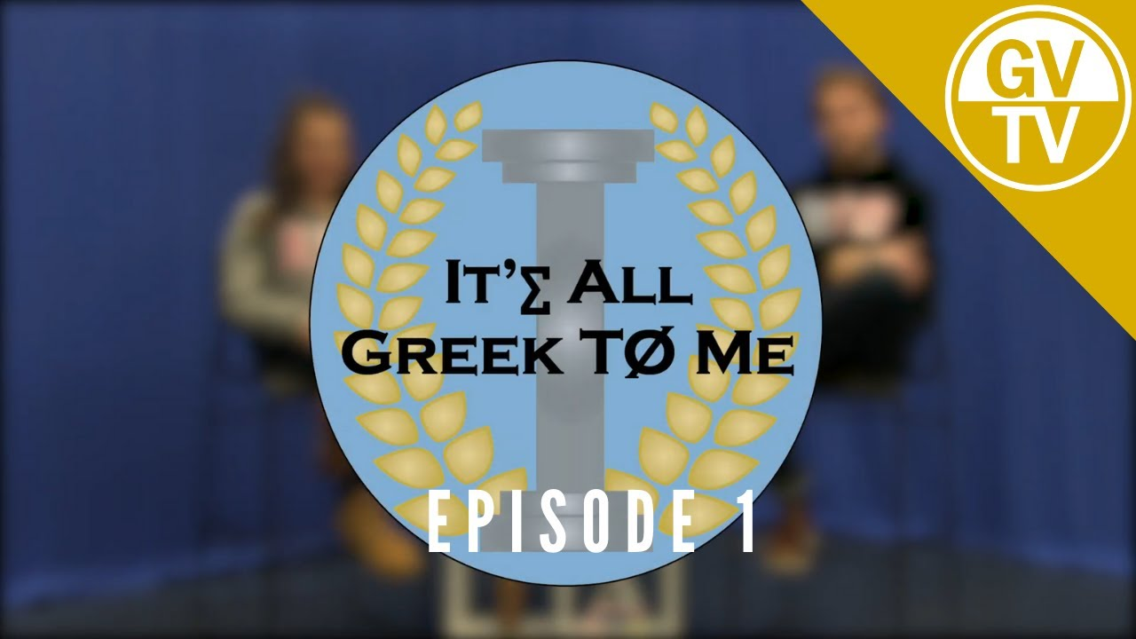 Episode One | It's All Greek to Me