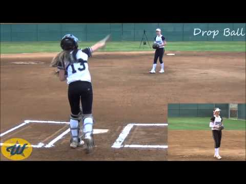 Payton Tidd's Softball Skills Video - 2018 P/1B - So Cal Athletics 14U-TO