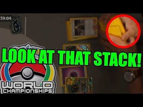 CHEATING AT THE POKEMON TCG WORLDS FINALS?!