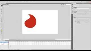 Урок по анимации Motion tween и Shape tween в Adobe Flash