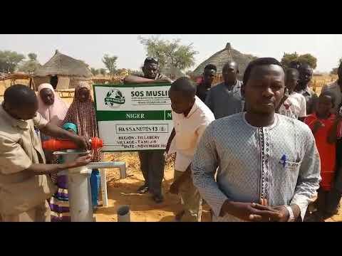 Puits au Niger H13 numéro 8 en construction (puits à 790€)