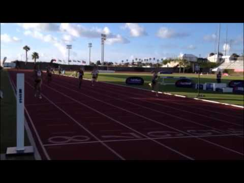 Womens 400M Island Games July 16 2013 2