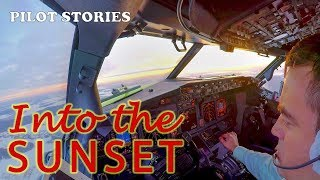 Pilot Stories: Flight to Samara. Part 1. Departing into the sunset.
