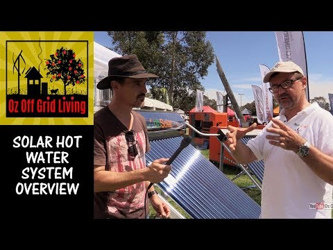 Solar Hot Water system overview
