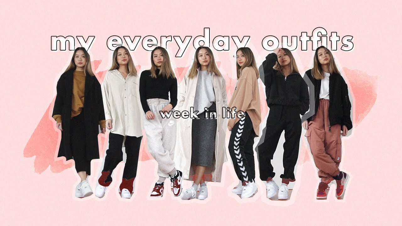 [VIDEO] - my everyday outfits | week in life (fall 2019) 8