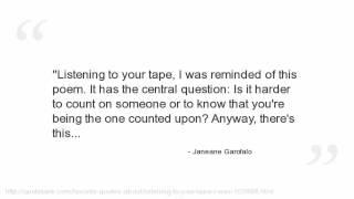 Janeane Garofalo Quotes