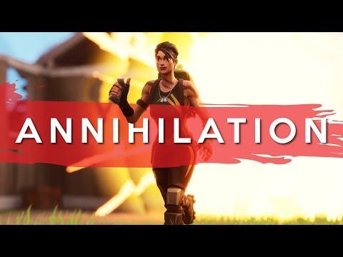 ANNIHILATION - SOLO V SQUAD (Fortnite Battle Royale)