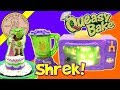 Queasy Bake Oven Mud Pudding & Easy Bake Shrek 2 Ogre-Tastic Wedding Cake Bake Set