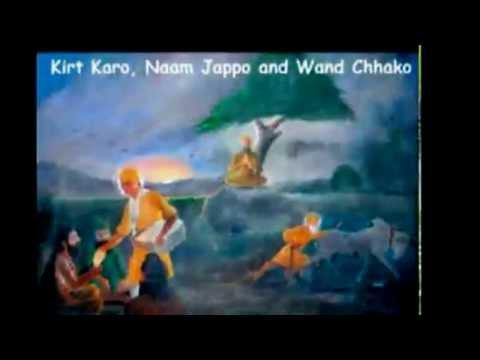 Satnam Shri Waheguru ..... Dhan Guru Nanak( sung by Varun Handa )