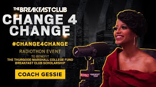 Coach Gessie Talks #Change4Change, Impossible Burger & Detoxing