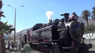"Antofagasta.""steam whistle""Locomotora ""Ferrocarril Antofagasta Bolivia"""