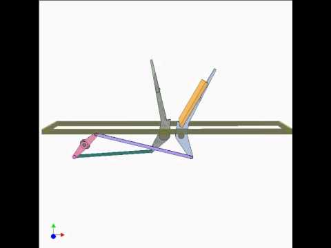 Flipping mechanism 1