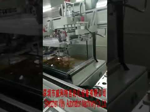 Vility Automatic screen printing machine