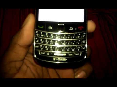 White screen blackberry bold 9700