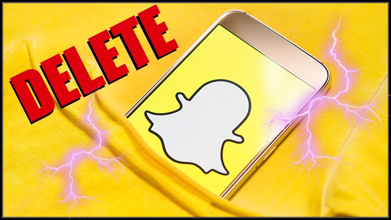 How To Delete Snapchat Account Permanently 2017