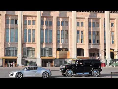 Audi R8 vs Audi A5 sportback vs Audi A6 vs Hummer H2