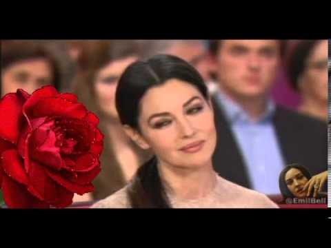 Monica Bellucci + Alejandro Fernandez & Christina Aguilera   Hoy tengo ganas de ti