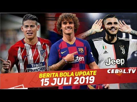 James Rodriguez Menuju Atletico Madrid? 🔴 Griezman Pakai No 17🔴 Juventus Tolak Bayar Icardi