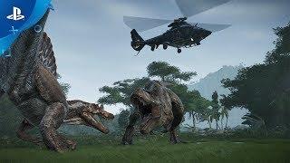 かの有名なムエルテス諸島で独自の恐竜パークを運営し、見る者を圧倒す...