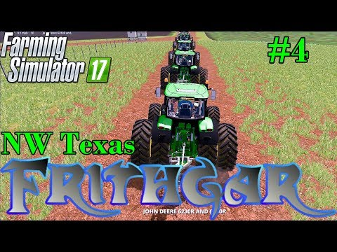 Let's Play Farming Simulator 2017, North West Texas #4: Preparing For The Ploughs!