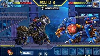 Robot Lion King VS Robot King Kong - Game Show - Game Play - 2016 - HD