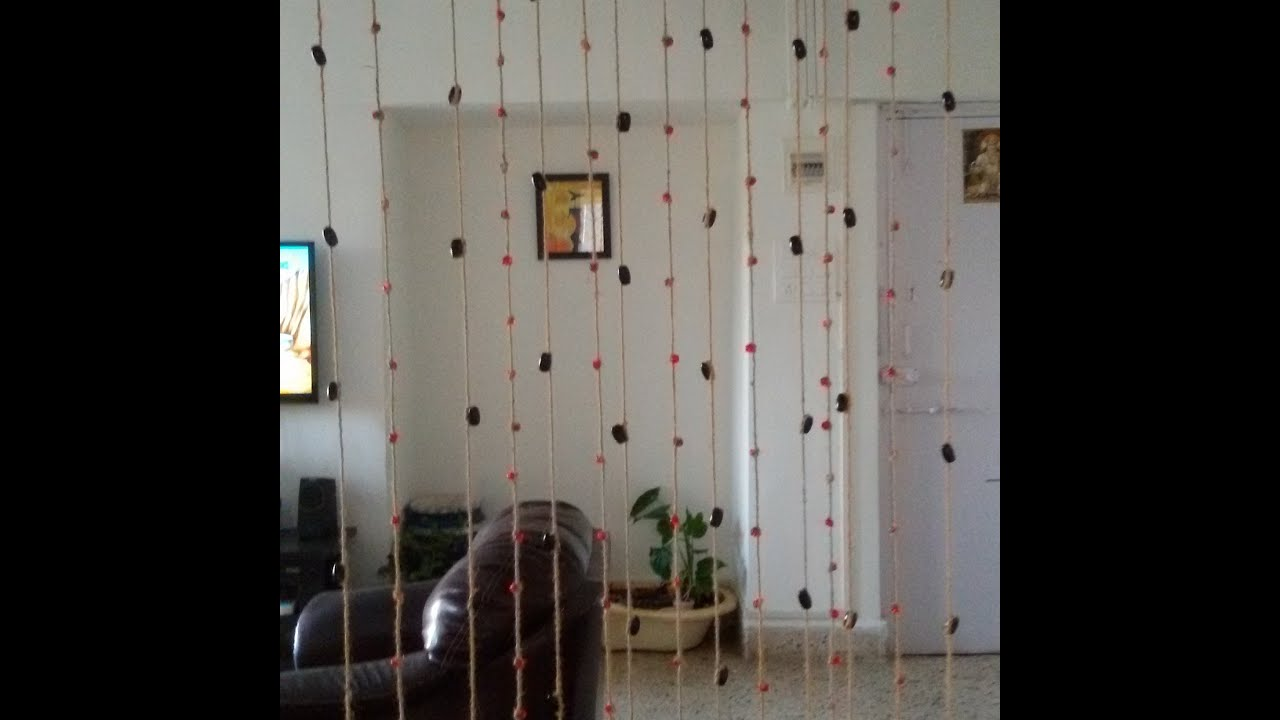 CGS DIY: Rope U0026 Beads Curtain| Chalo Ghar Sajaayen