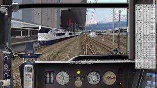 BVE5 Trainsim JR湖西線經由敦賀行 223系(新快速) 前面展望 上