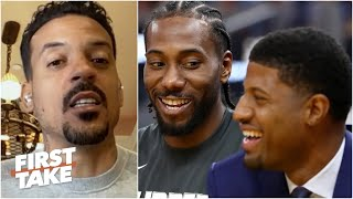You can't give up on Paul George - Matt Barnes | First Take