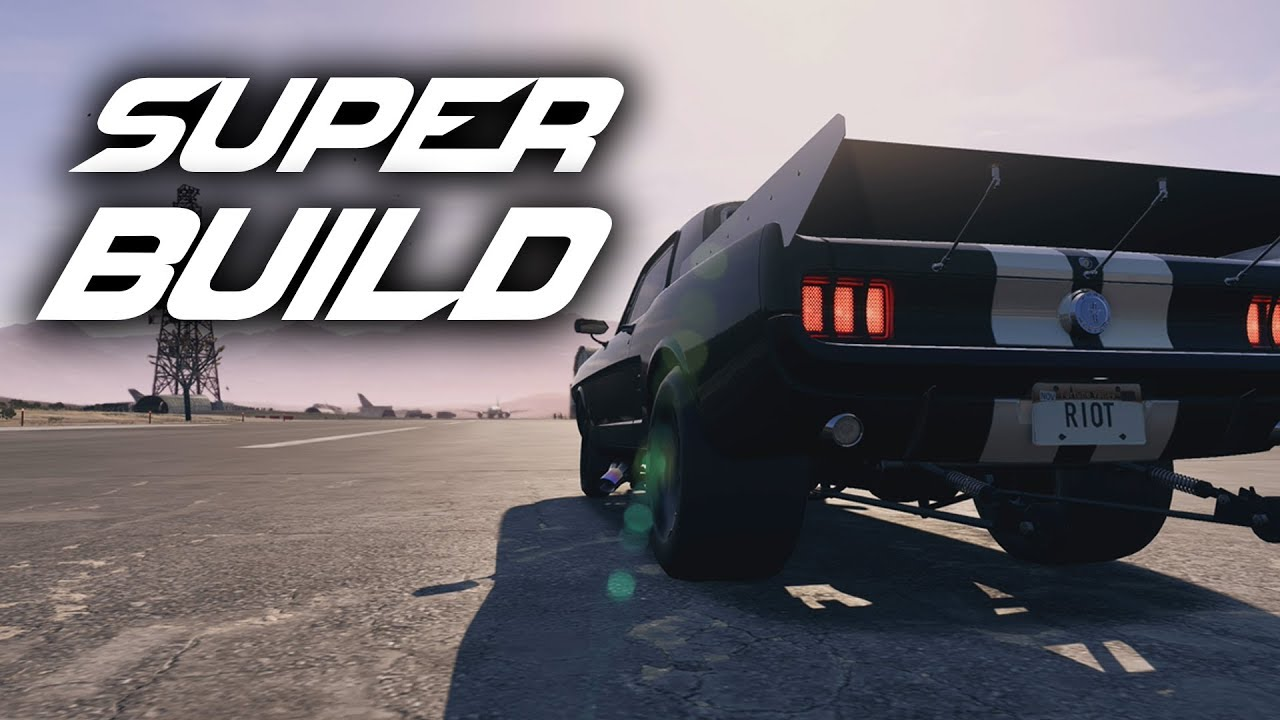 Need For Speed Payback Super Build Ford Mustang Drag Derelict