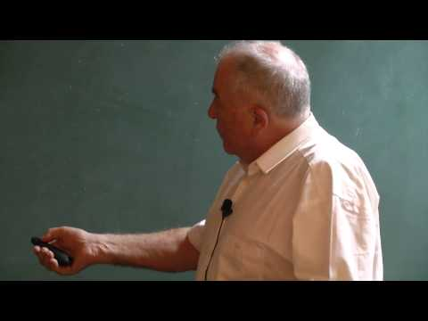 IIT Madras -IAR- Nobel Laureate Prof.KURT WUTHRICH lecture in Chemistry Dept Part 1 of 3