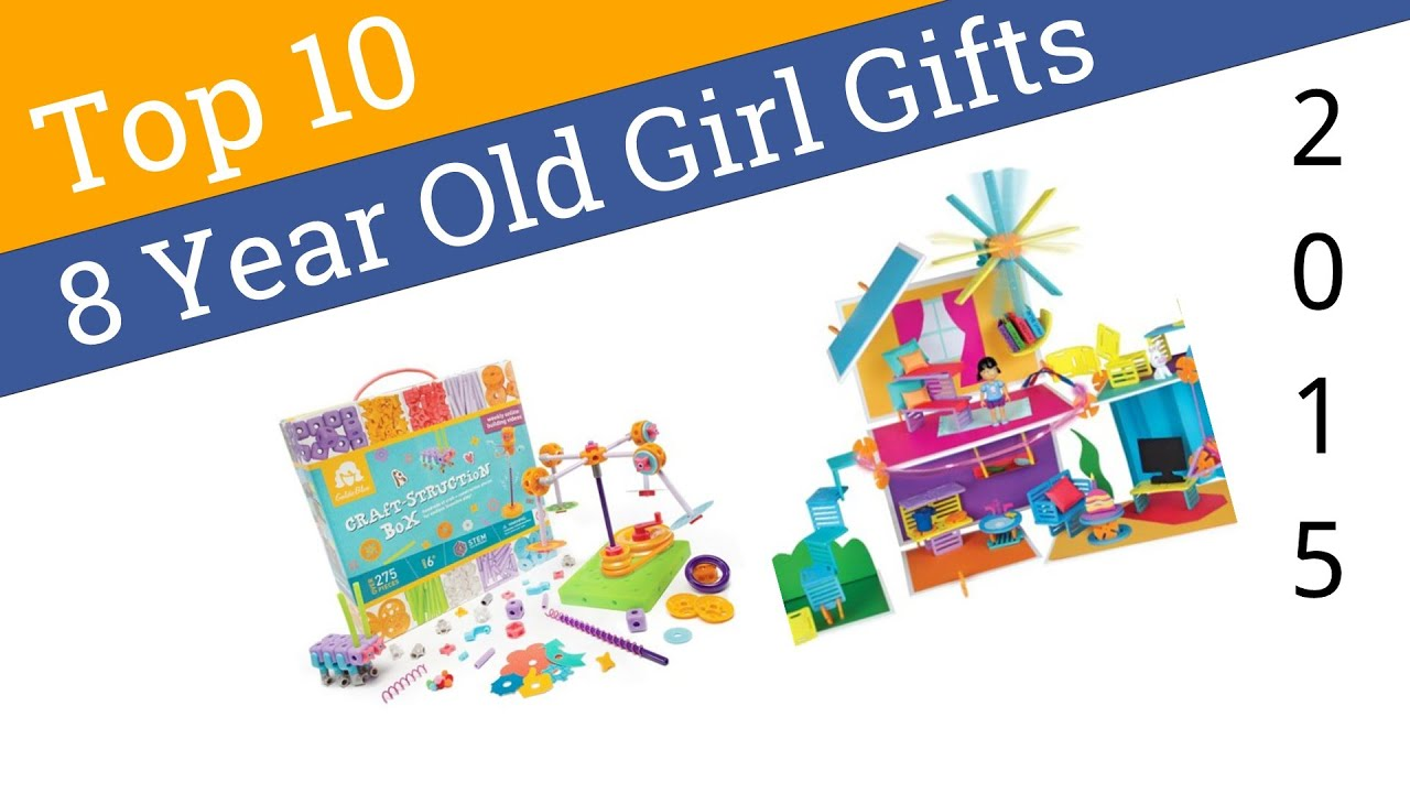 10 Best 8 Year Old Girl Gifts 2015 - YouTube
