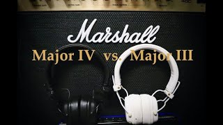 Marshall Major IV vs Major III Headphones: Comparison & Review
