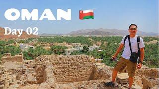 OMAN Travel Vlog | Road trip to Nizwa | Day Two