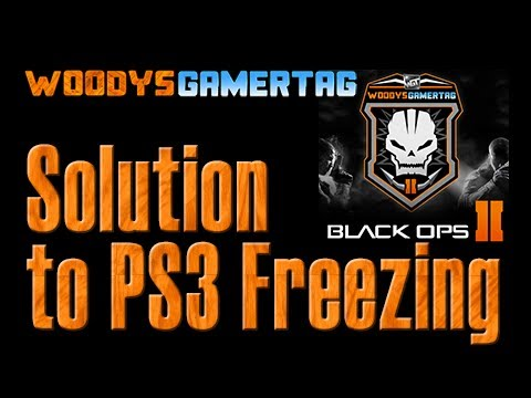 How to Fix the PS3 Freezing Problem Black Ops 2