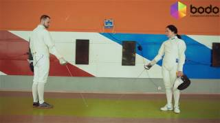 Урок фехтования для двоих (Харьков)
