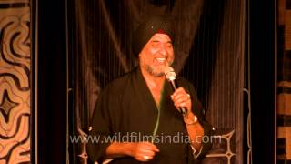 Indian singer Sarbjit Singh Chadha sings Japanese enka song