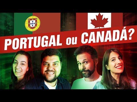 CANADÁ 🇨🇦 vs. PORTUGAL 🇵🇹 - QUAL PAÍS É MELHOR? - feat. Canal Maximizar
