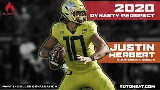 Justin Herbert - Dynasty Football Rookie - 2020 NFL Draft Prospect