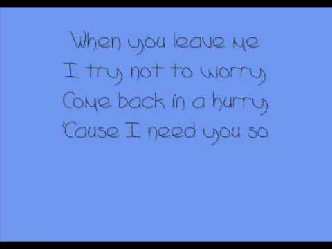 Elvis Presley - I Need You So (With Lyrics)